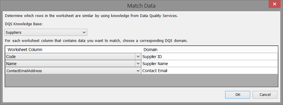 Match Dialog windows I am seeing
