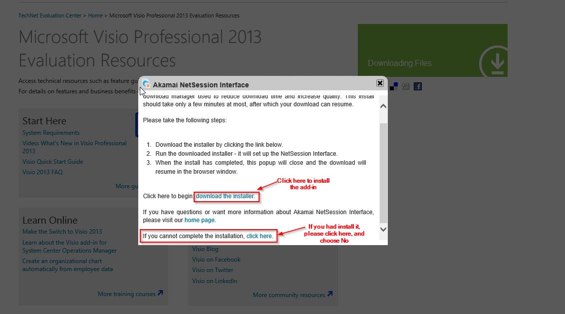 direct download links of microsoft visio professional 2013 (32-bit)