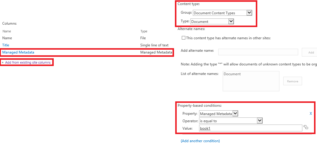 how to create metadata in sharepoint 2013