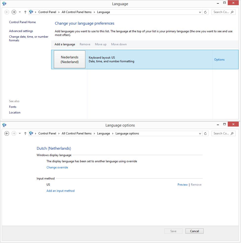 8 1 pro update1] Windows KEEPS changing and reinstalling keyboard