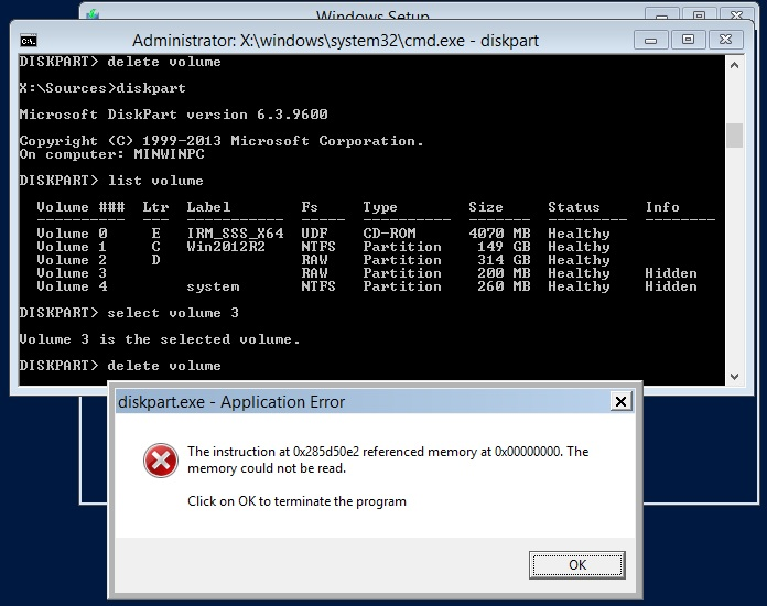 Windows server 2012 R2 Datacenter : How to create Hyper-V which will