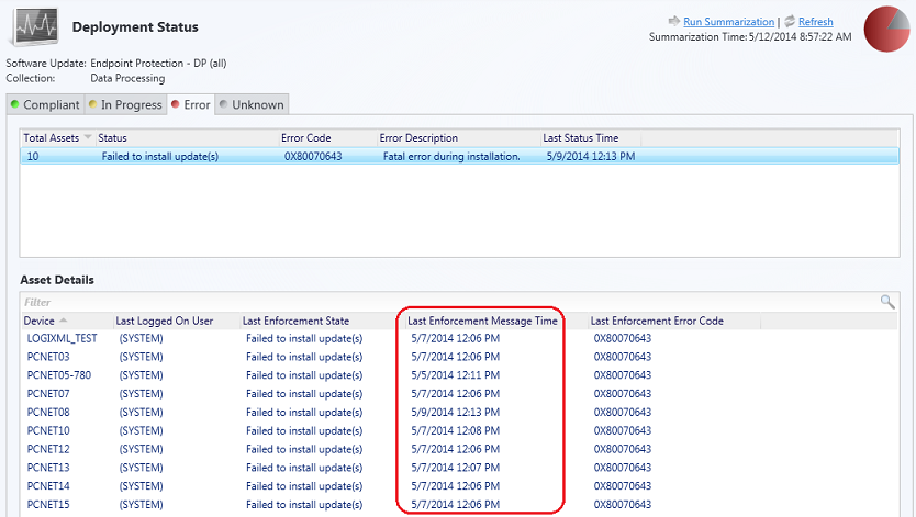Configuration Manager 2012 - Security, Updates and