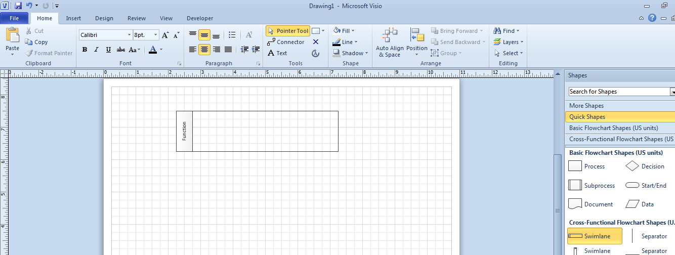 infact never i have noticed it in my menu bar in my visio 2010 do you think this is the cause of the problem how do i solve this - My Visio