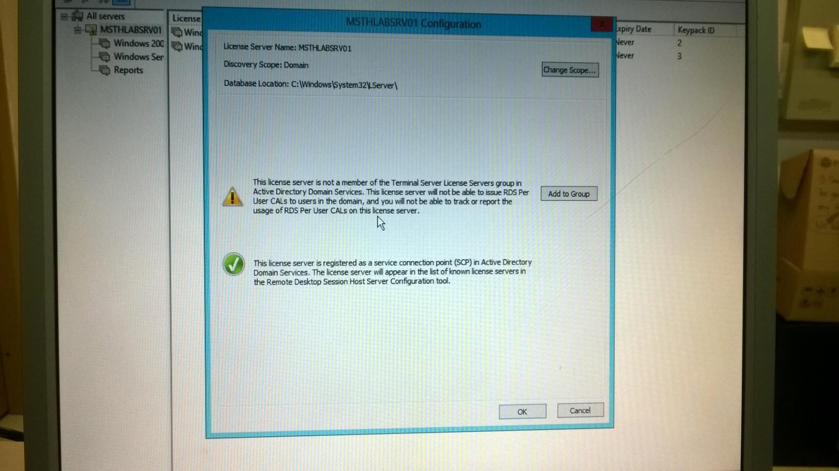 Terminal server broker login twice