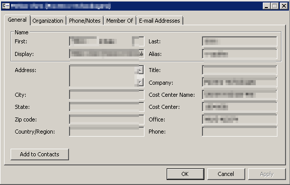 how to delete emial address from outlook contact card