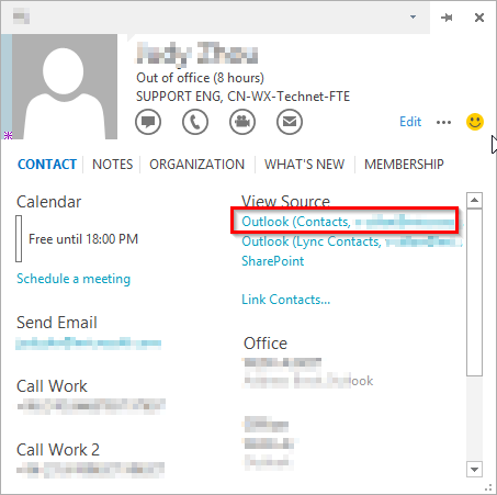 outlook how to change name of sender