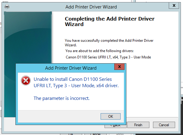 Unable To Install Network Driver Windows 7