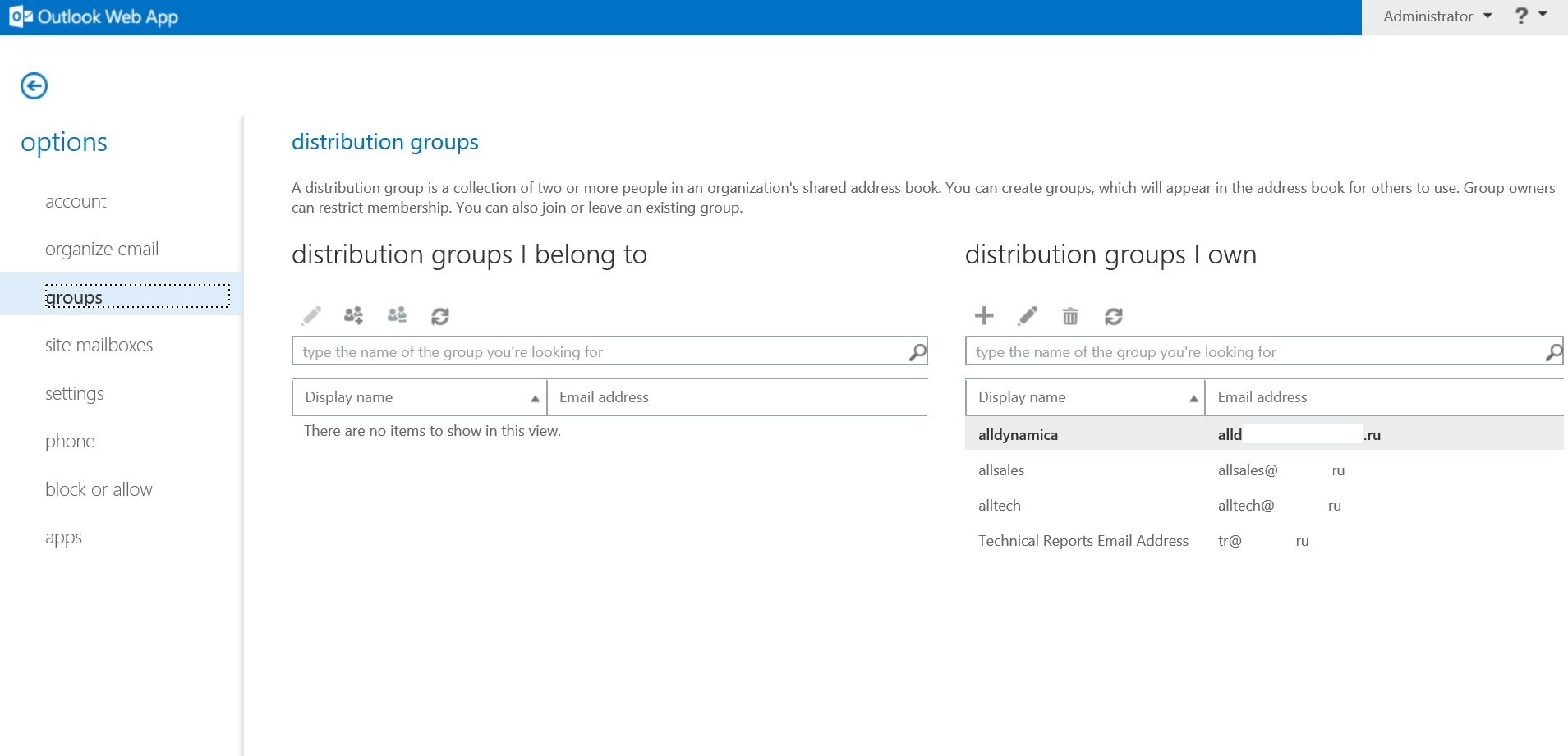 how to create a global distribution list in outlook 2010