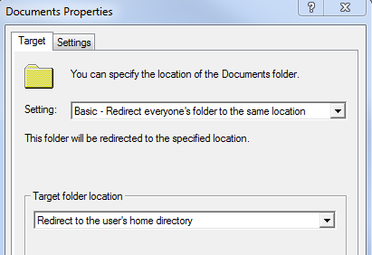 Redirect documents not working for My documents redirection not working