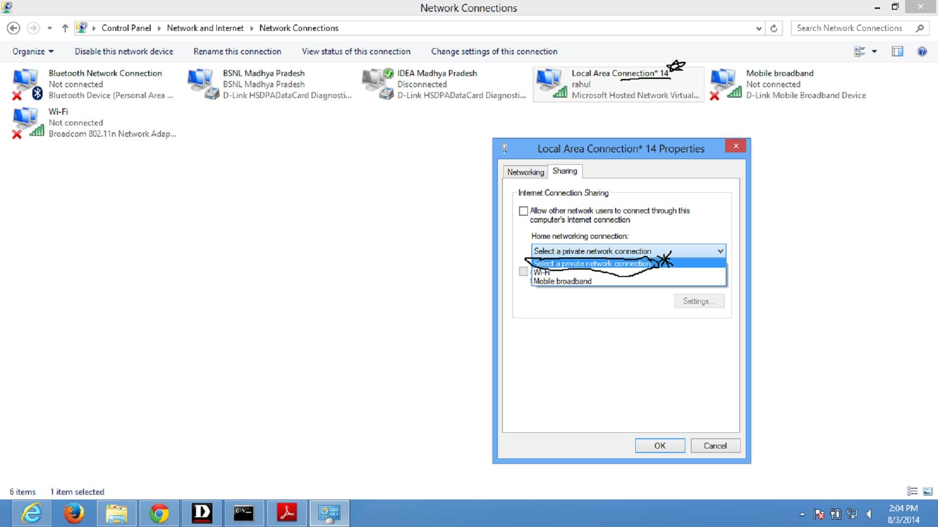 how to make my laptop wireless hotspot