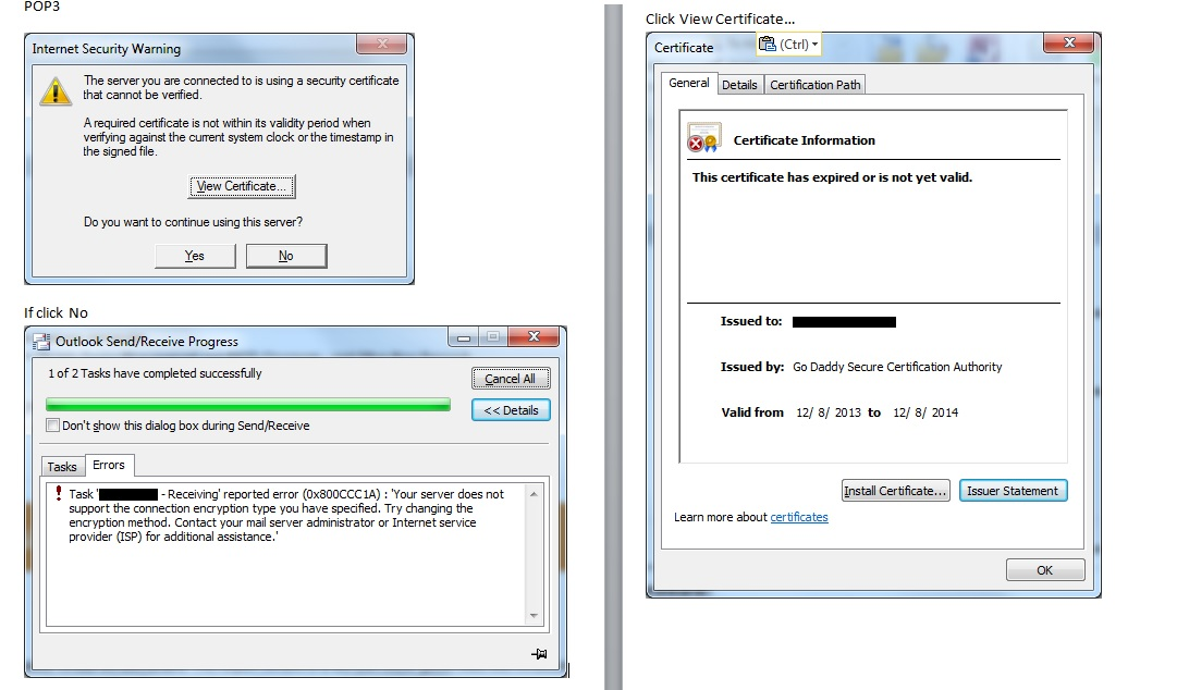 Using Self Signed Certificate To Replace Expring Godaddy Ssl Certificate