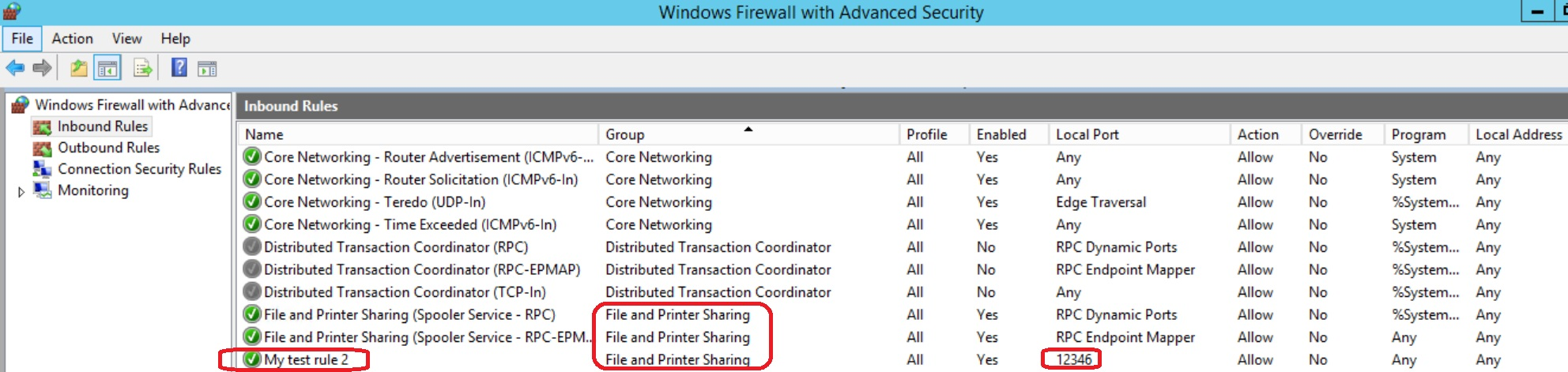 How to Create Windows Firewall Predefined rules using Powershell