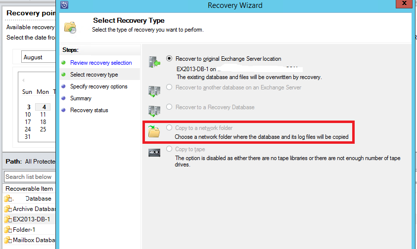 how to us recovery d drive