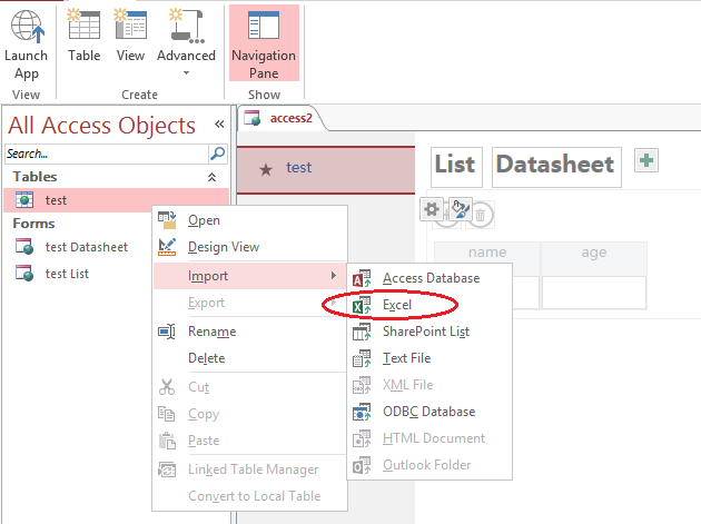 Overwriting table data in Access Web App