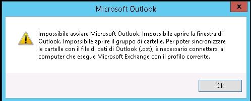 Errore impossibile avviare microsoft outlook repooj - Impossibile avviare microsoft outlook impossibile aprire la finestra di outlook ...