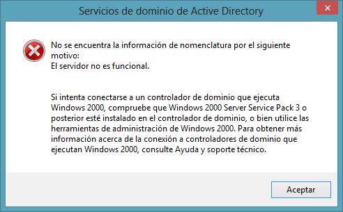 Error MMC windows 8