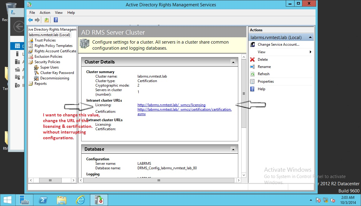 Active directory rights management serviceon premise forum brocade certified xflitez Image collections