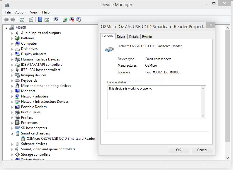 MICROSOFT CCID SMARTCARD DRIVERS FOR WINDOWS VISTA