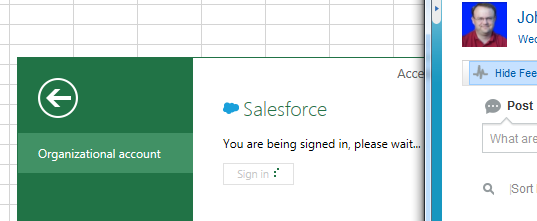 how to connect powerforms to salesforce