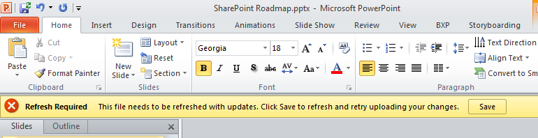 how to change a powerpoint from read only