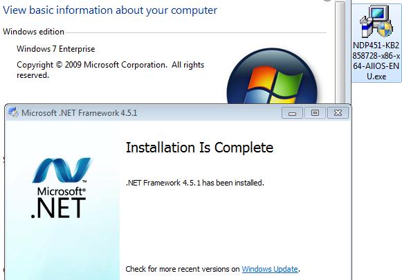 net framework 4.5.1