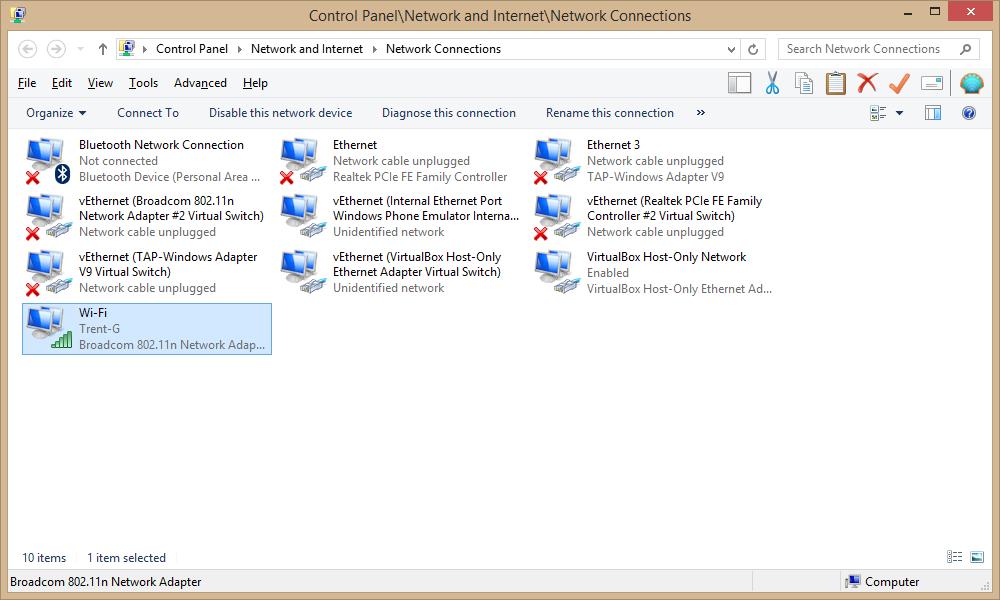 Hyper-V in Windows 8   VM cannot get DHCP IP address