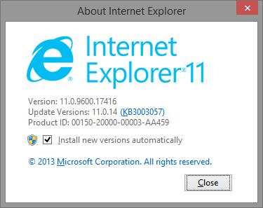 IE v11.0.9600.17416