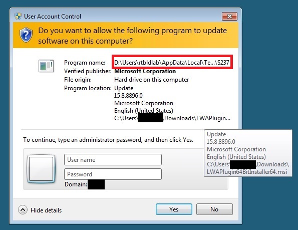 Lync 2013 Web App Plug-in Install Prompting for Credentials