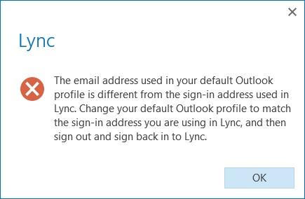 Change your presence status - Lync