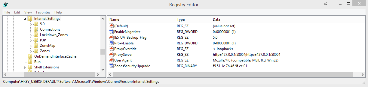 how to stop settings revering back to default after restart
