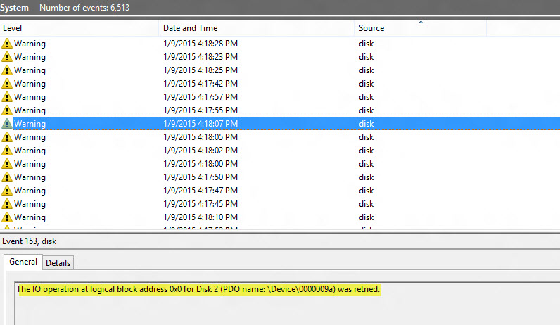 How to interpret Event Viewer reference to \