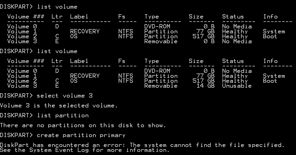 how to put ms-dos on a flash drive