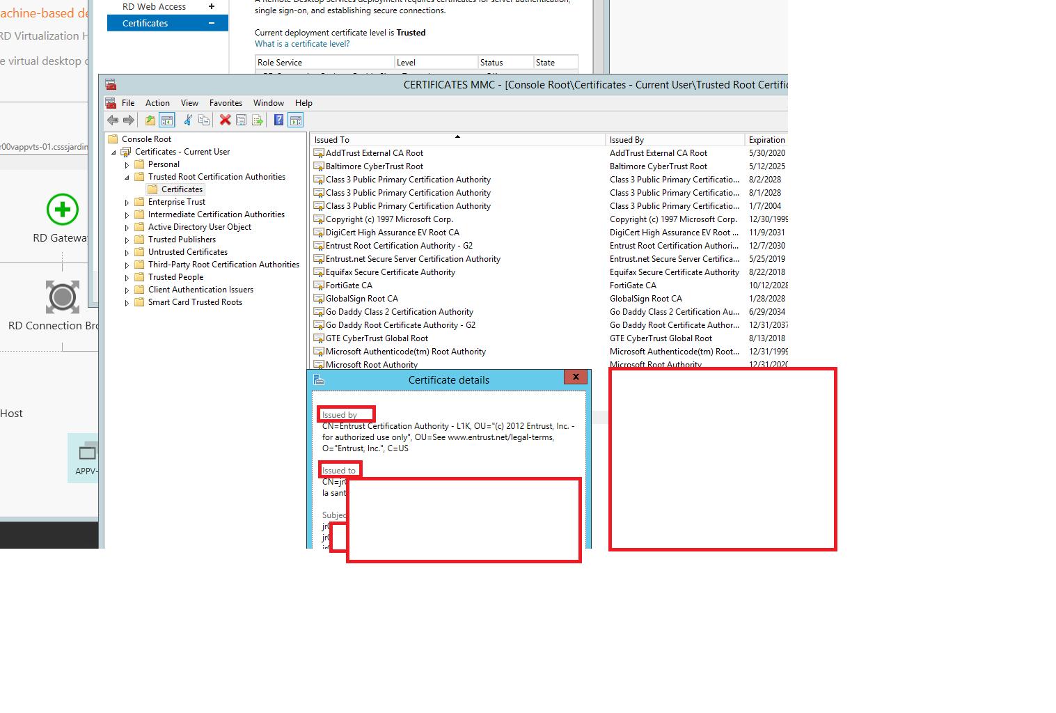 Remote desktop services terminal services forum see screenshot xflitez Image collections