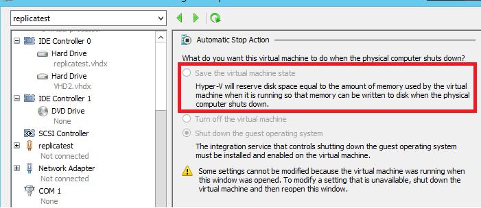 Can't start Hyper-V server, error Could not initialize