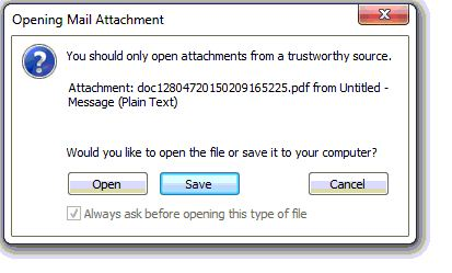 when trying to print pdf save as comes up