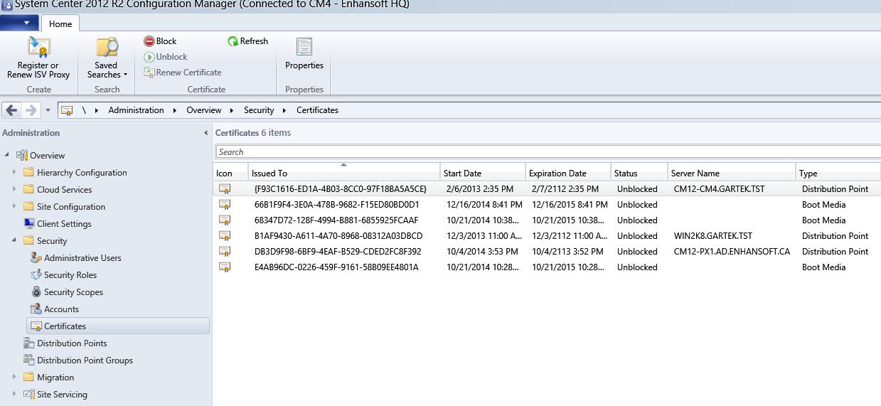 Sccm 2012 Default Self Signed Cert Expired
