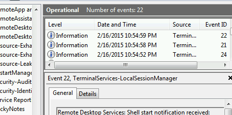 Why is Remote Desktop running when I have it disabled?