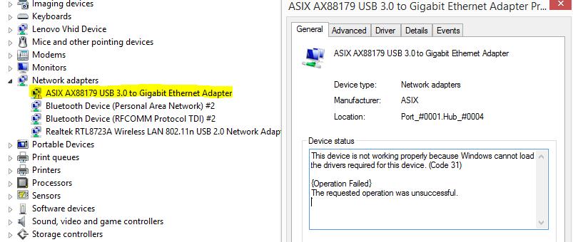 network adapter driver windows 8.1 64 bit