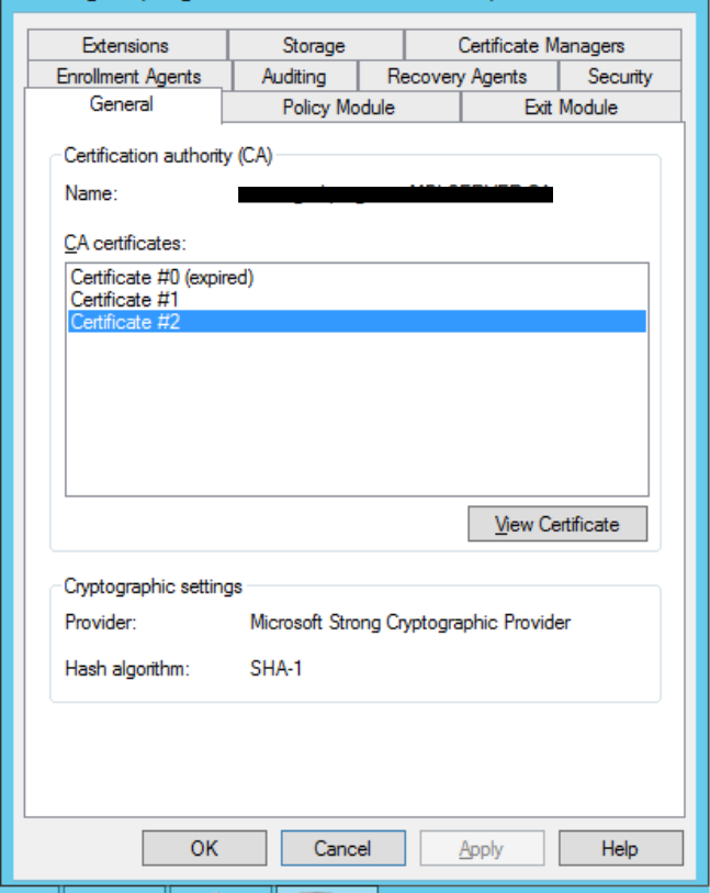 How to remove Expired Certificate in Certification Authority