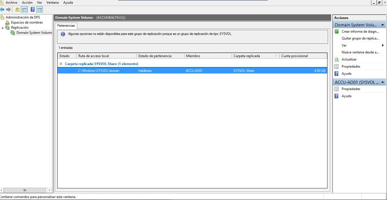 Errir ID 4012 Active Directory