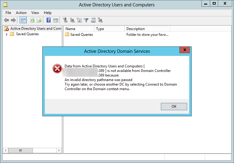 Connecting to adlds using active directory users and computers console - Console active directory ...