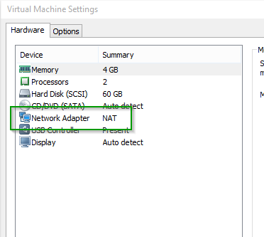 VMWare bridged network is not working after upgrade to Windows 10