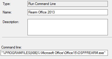 activate office 2013 command line