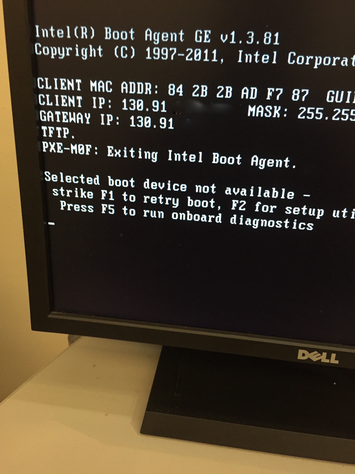 PXE Boot Across Subnets