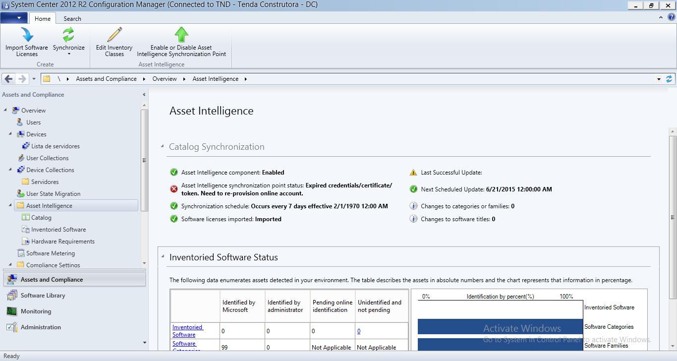 Asset Intelligence Sccm 2012 R2