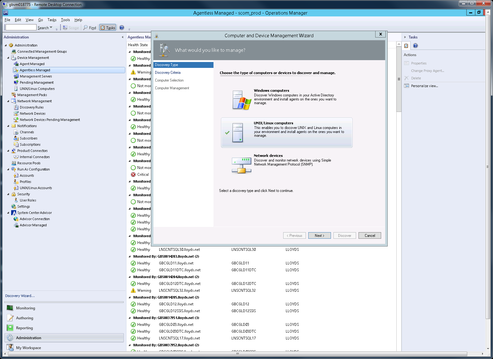 Will SCOM 2012 R2 support Linux SCOM agentless monitoring ?