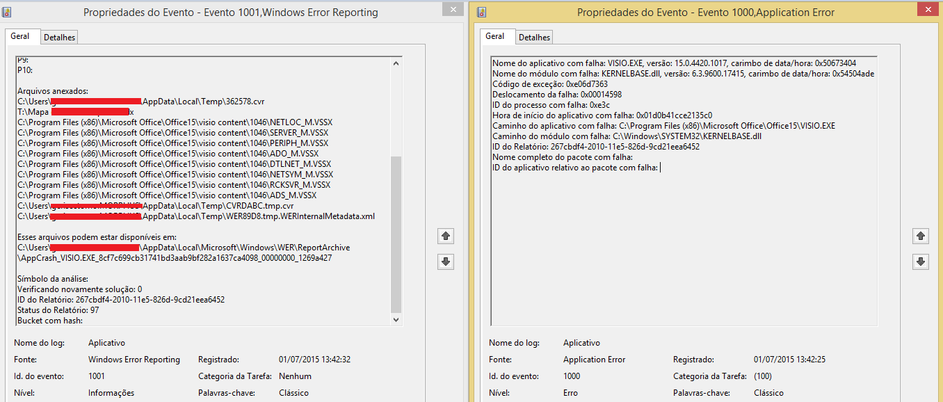 faulting module name kernelbase.dll faulting application name w3wp.exe