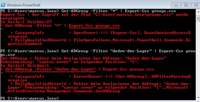 issue error