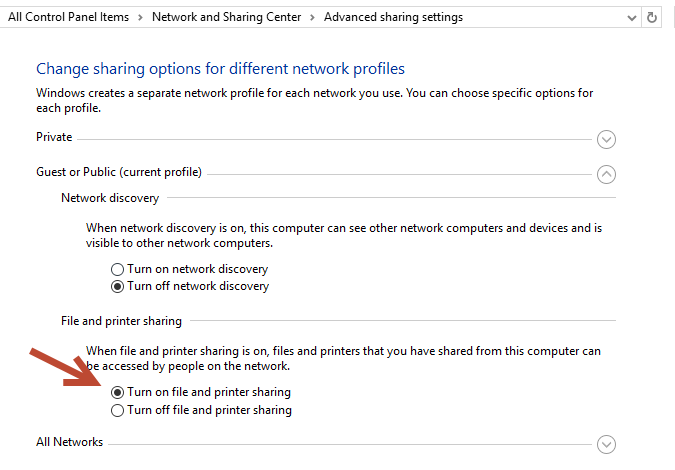 Windows 10 denying UNC Paths