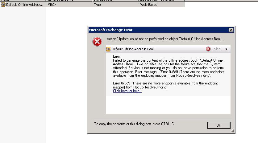 download offline address book outlook 2013 operation failed